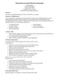 Accounting Skills Resume Resume Cv Cover Letter