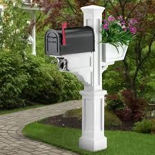 Unique Mailbox Post Mail Box Ideas Nautical Mailboxes Post Unique