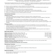 Dorable Resume Substitute Teaching Elaboration Documentation