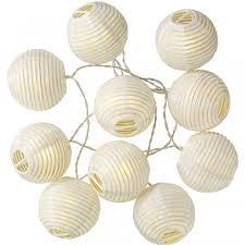 Papieren Lantaarn 10 Lampjes