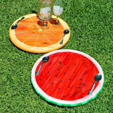 summer fruit trays easy and fun summer crafts diy projects