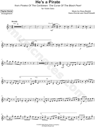 Hes a pirate sheet music for trumpet viola download free. Taylor Davis He S A Pirate Sheet Music Violin Solo In D Minor Download Print Sku Mn0178865