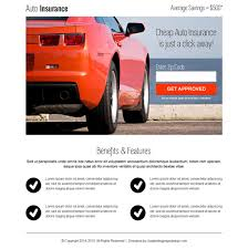 auto insurance instant zip capture clean landing page design