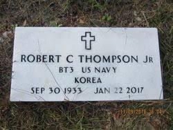 """Robert Cornelius """"R.C"""" Thompson Jr. (1933-2017) - Find A Grave Memorial"""
