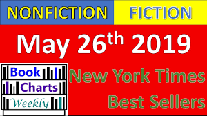 Top 10 Books To Read For Nonfiction Fiction May 26th 2019 New York Times Best Sellers Chart