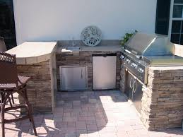 Alfresco Outdoor Kitchens Built In Outdoor Grill Designs Infrared Built In Outdoor Kitchen