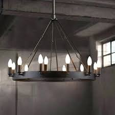 home and furniture remarkable round iron chandelier on franklin works chandeliers lamps plus round iron