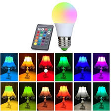 5 Light Bulb Lamp Us 4 01 39 Off E27 Led 16 Color Changing Rgb Magic Light Bulb Lamp 5 10 15w 85 265v 110v 120v 220v Rgb Led Light Spotlight Ir Remote Control In