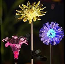 led garden lights outdoor solar lights