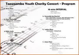sample concert program concert program templates oyle kalakaari co