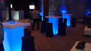 Lighted Cocktail Tables For Rent Led Cocktail Table Rentals Md Dc Va Lighted Cocktail Tables