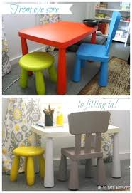 toddler desk and chair ikea kids table set makeover childrens desk chair ikea