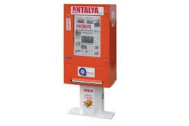 Coin Operated Newspaper Vending Machine Classy Sales Newspaper Service Vendors Vending Machines