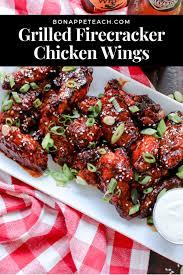 grilled fireer wings