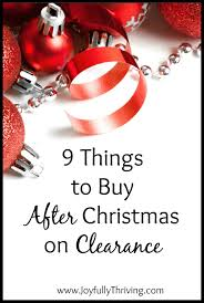 9 Things to Buy After Christmas on Clearance