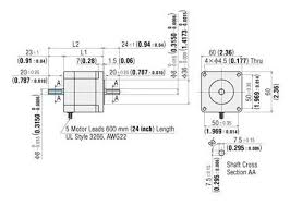 pknbw a stepping motor oriental motor valin available in two stack lengths 1 54 in 39 mm 2 32 in 59 mm
