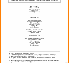 How To Write References On Resume Ideas Of How To Write A Reference List For Resume Job References 45