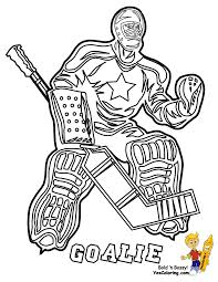 Small Picture Coloring Pages Hockey Coloring Page Tryonshorts Nhl Goalie