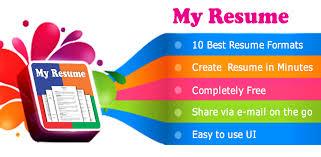 Resume Builder Free 5 Minute Cv Maker Templates 6 0 Seedroid