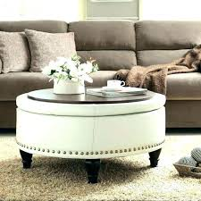 large ottoman coffee table. Large Ottoman Coffee Table Tables Collection Of Solutions Cute Extra Round Leather .