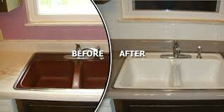 PKB Reglazing Inc  THE LEADING BATHTUB REGLAZING SPECIALISTS IN Reglazing Kitchen Sink