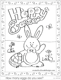 Free Easter Coloring Pages Printable For Adults Eggs Awesome