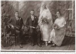 AncestorChasing: Wedding Wednesday - Nellie Fleming and Roy Vines