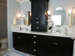 elegant black wooden bathroom cabinet. bathroom contemporary excellent hardwood cabinets unique modern square white sink black wood double rectangular elegant wooden cabinet a