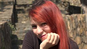 Mb cream in teen redhead