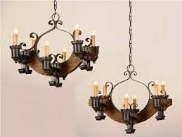 rustic lamp shades for chandeliers