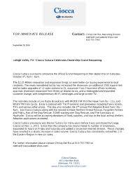 new car dealership press releaseCiocca Subaru  Ciocca Subaru Press Release