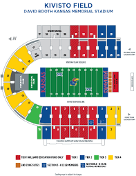 Memorial Stadium Seating Chart Football Fan Guide Kansas Jayhawks