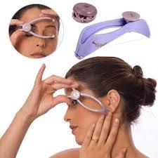 <b>Mini Women</b> Plastic Cotton Facial <b>Hair</b> Remover Spring Threading ...