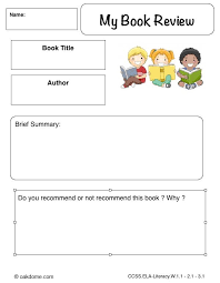 book review template for primary school google search library  book review template for primary school google search