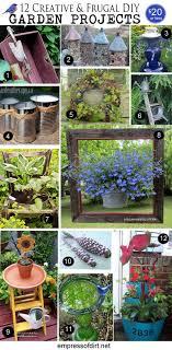 garden art projects. Creative Garden Art Projects Under $20