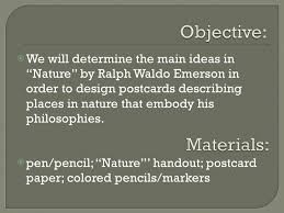 nature ralph waldo emerson 2