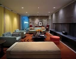 Attractive Design Wooden House Living Room Interior Living Room - Modern house interior