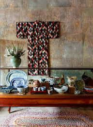 Hanging Rugs 1930s Japanese Silk Meisen Kimono Hanging On The Wall I Think I