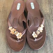 Oka B Flip Flops Size M