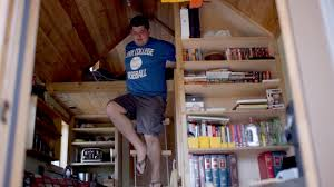 Small Picture Tall law student tiny house bachelor builds dorm on wheels YouTube