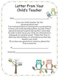 teacher introduction letter to parents sample lovely introduction letter to parents from preschool teacher google of teacher introduction letter to parents sample