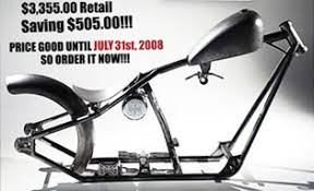 west coast choppers 140 cfl frame kit on sale at cyril huze post