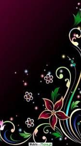 black flower background wallpapers