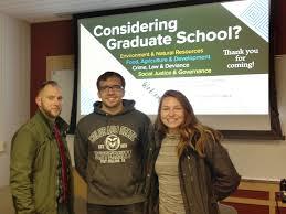 Considering Grad School Considering Graduate School Sociology Colorado State