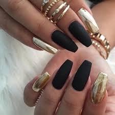Lolitashow uñas acrilicas negras con lazo de 12 piezas lolitashow. Diseno De Unas Acrilicas Negras Mate Decorados De Unas