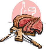 beef clipart.  Clipart Prime Beef Butcher Shop Stamp Roast Beef With Clipart