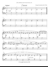 Transcripción para piano de una obra genial, muy solicitada por los pianistas. Canon In D Easy Version Vazna Hudba Noty Easy Sheet Music Piano Sheet Music Classical Piano Sheet