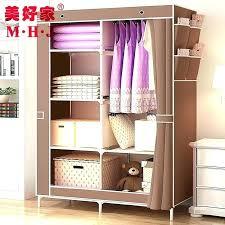 compartment hanging shoe organizer breathable canvas canvas closet organizer shelves home interior design