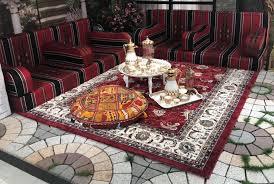 arabian majlis long sofa wt 3 arm rest
