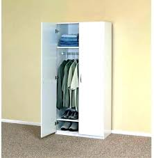 small portable closet wood closets system white wardrobe cabinet clothes organizer bedroom home depot canada